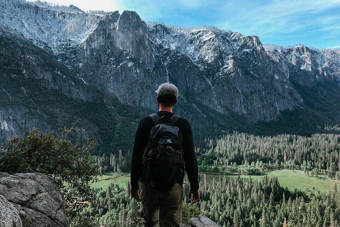 Hiking in Yosemite during free time