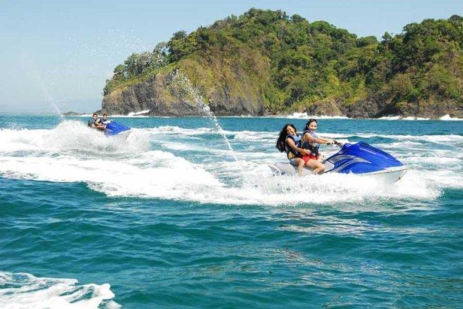 Jet Ski Adventure from Herradura Bay to Playa Fantasia