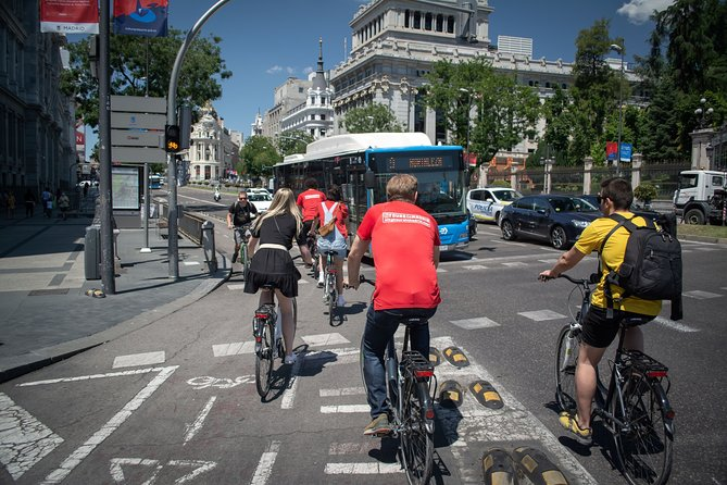 3 hour Madrid Bike Tour