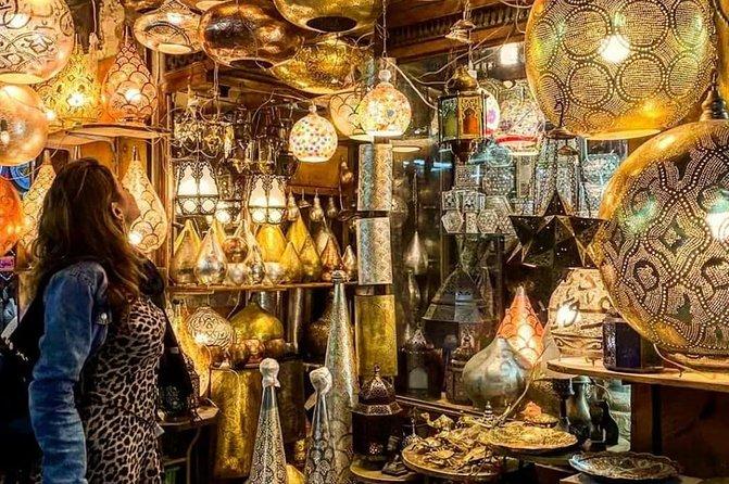 El-Moez Street and Khan Khalili Bazaar