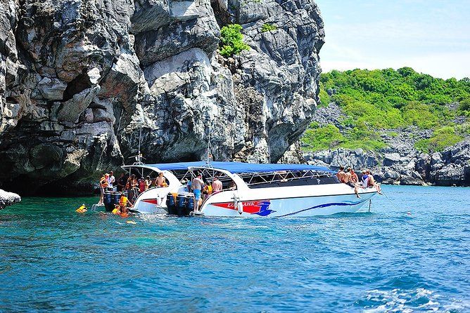 Snorkel and Kayak at Angthong National Marine Park By Speedboat From Koh Phangan