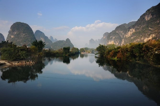 Private Day Tour in Yangshuo: Biking, Moon Hill, Xingping River Boat, and Lunch