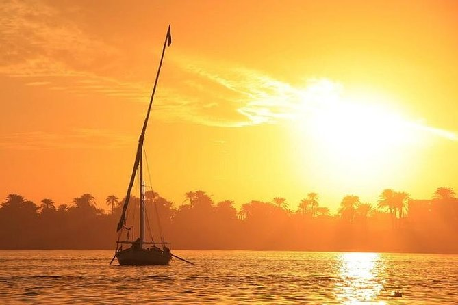 Private Tour Luxor Banana island & camel island by traditional Egyptian Felucca