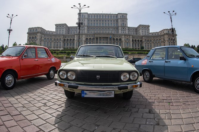 Red Patrol Bucharest Photography Tour with Dacia