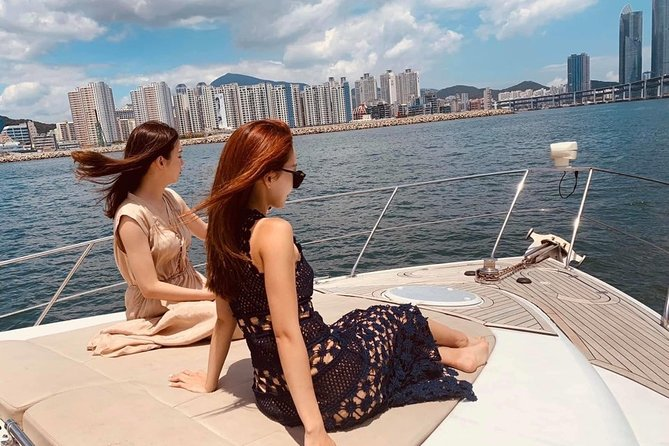 Guided Sightseeing Yacht Tour of Busan Sea