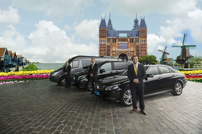Private 1 - 23 persons Taxi or Bus Transfer Amsterdam Airport to Luxembourg