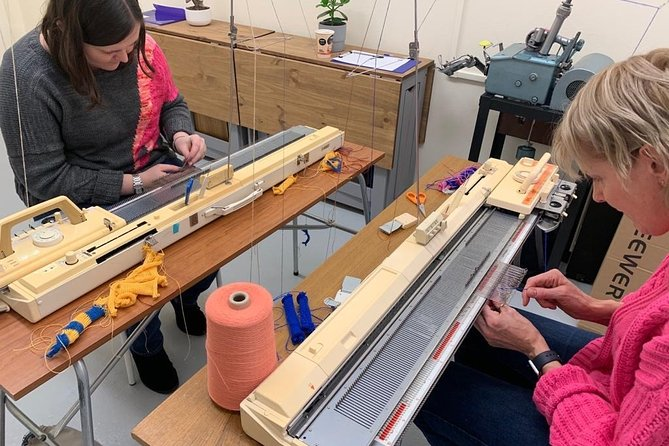 Beginner's Machine Knitting 'Live' Online Class