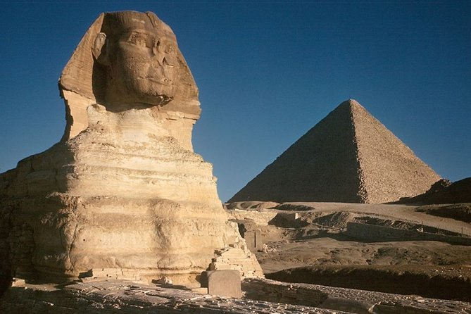 Full day private tour to Dahshur, Giza pyramids, Saqqara & Memphis