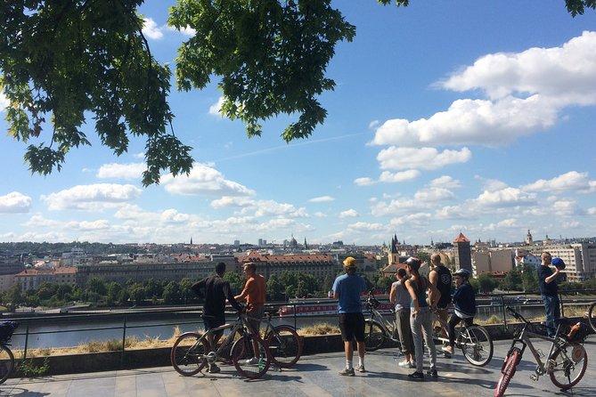 Prague FAT-TIRE E-BIKE city & parks tour