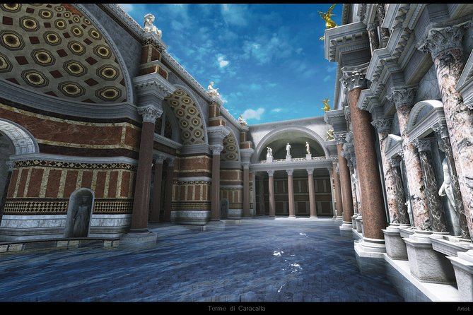 Baths of Caracalla Virtual reality experience