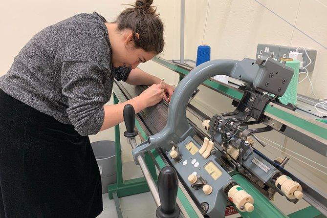 Industrial Machine Knitting 'Live' Online Class'