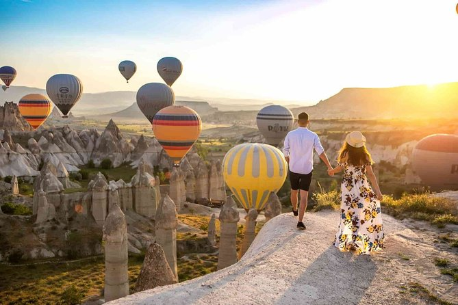 3 Days Travel from Istanbul to Cappadocia - with Hot Air Balloon Tour