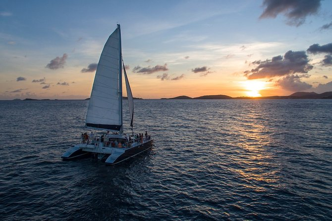 St. Thomas Dinner Sail to St. John with Open Bar & Hors D'oeuvres - Ritz-Carlton