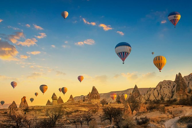 Diamonds of Cappadocia : 3 Days Travel with Balloon Ride Option from/to Istanbul