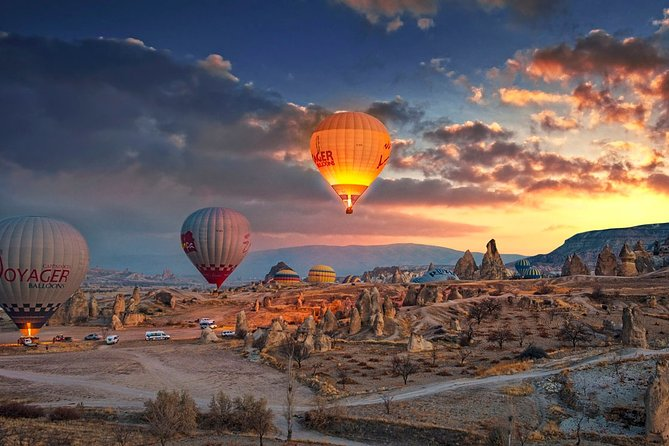 Legends of Cappadocia : 3 Days Travel with Balloon Tour Option from/to Istanbul