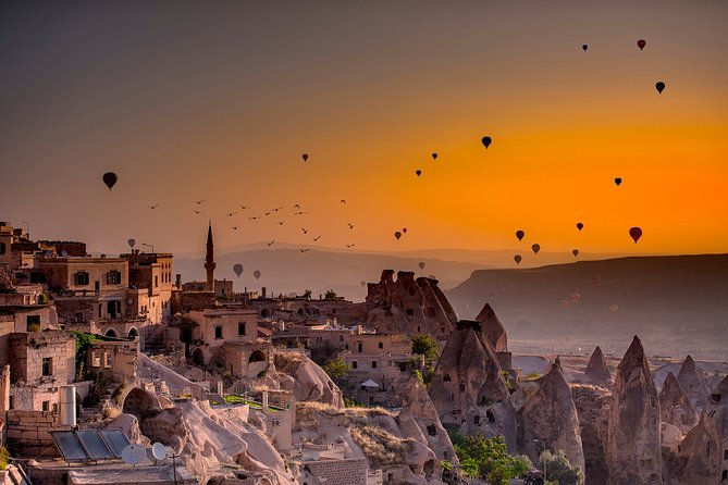 4 Days Travel to Pamukkale, Ephesus, Cappadocia with Hot Air Balloon Ride Option
