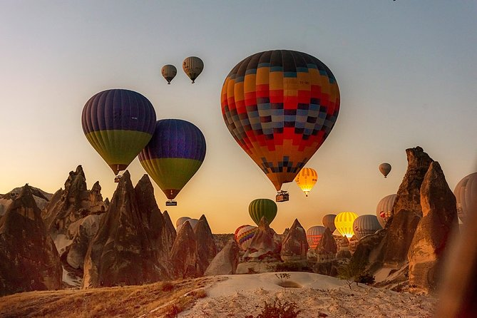 4 Days Tour to Pamukkale, Ephesus, Cappadocia with Hot Air Balloon Ride Option
