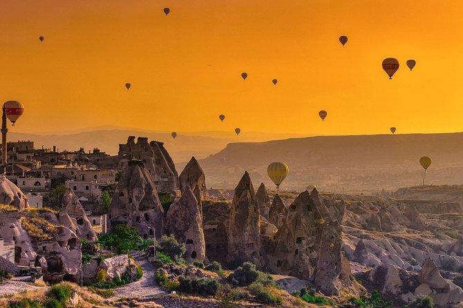 Pamukkale, Ephesus, Cappadocia Travel from/to Istanbul - Balloon Ride Option
