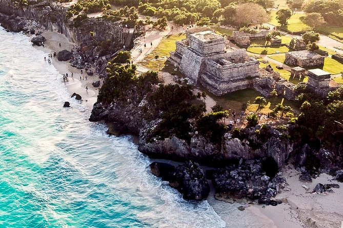 Full Day Guided Tour in Tulum, Coba, Cenote and Playa del Carmen