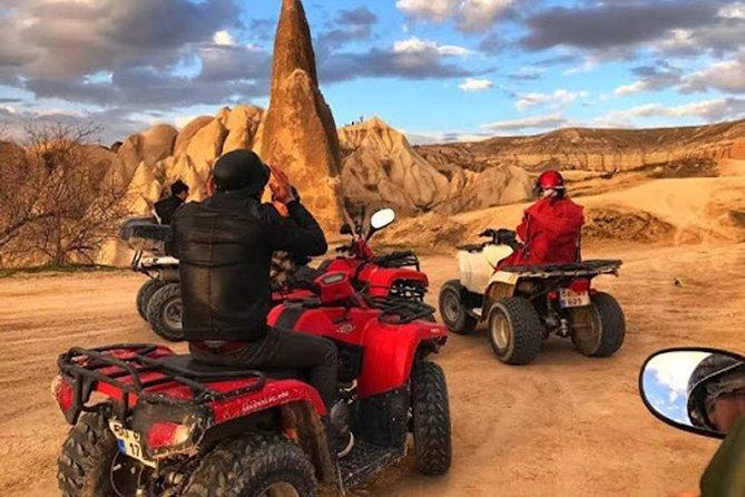 Deal Package : Cappadocia Full-day Red Tour & ATV Quad Bike Safari