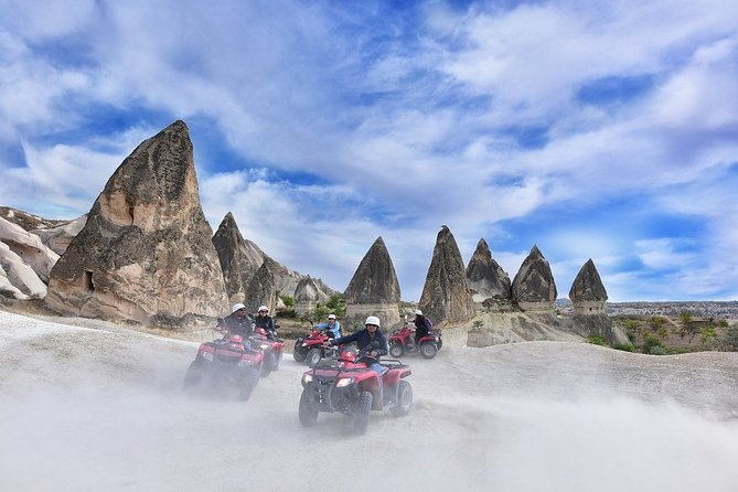 Pamukkale Ephesus Cappadocia Tour with ATV Quad Safari, and Balloon Ride Option