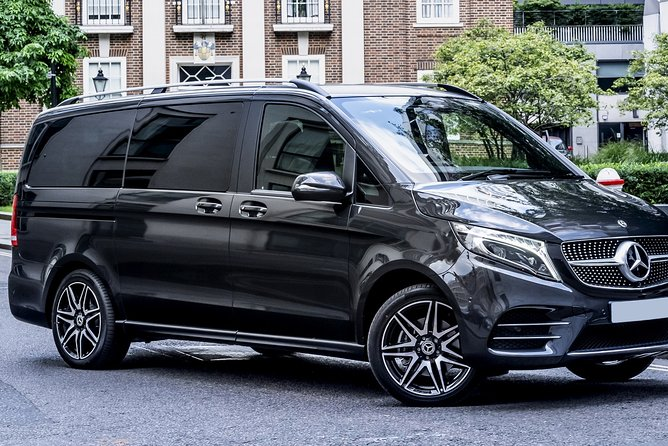 Arrival Private Transfers from Basel Airport BSL to Basel City in Luxury Van