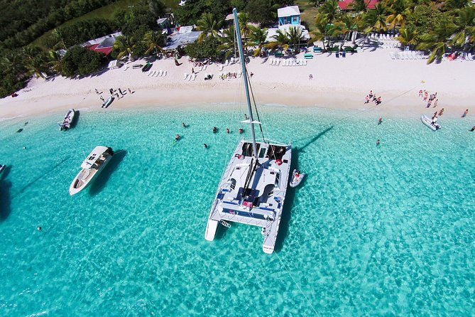 St. John Jost Van Dyke & Soggy Dollar Snorkel Sail with Breakfast - Westin