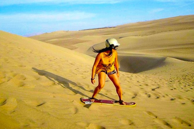 #1 Sandboarding - Buggy Tour & Huacachina Oasis - from Lima (Small Group)