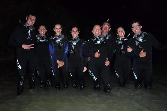 Bioluminescence experience in Holbox