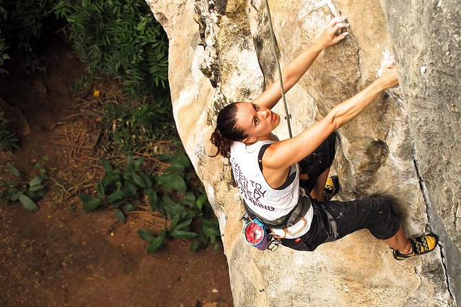 Full day rock climbing Railay Beach
