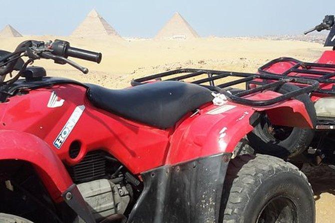 Quad bike adventure tour to Giza Pyramids