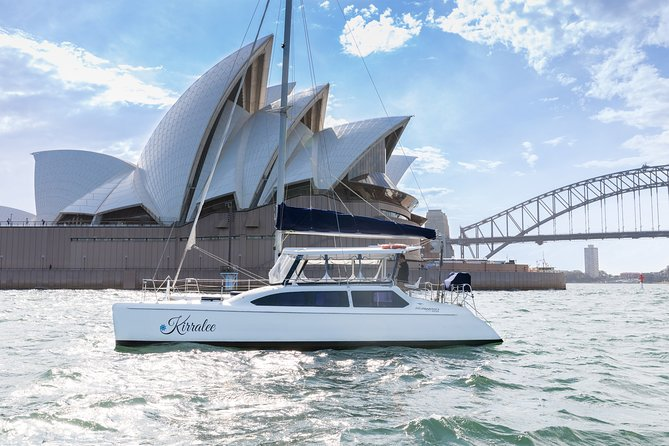 Private Catamaran Hire on Sydney Harbour