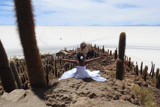 Uyuni Salt Flats + Hedionda Lagoon 2 DAYS/1 NIGHT Private Service