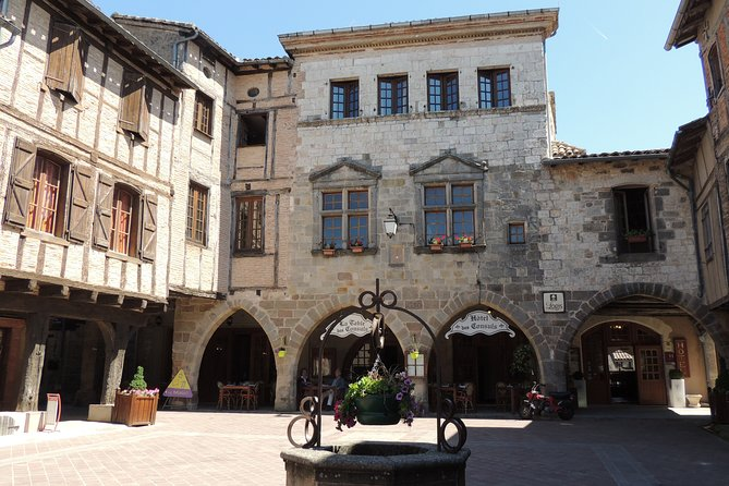 Day tour to Puycelsi, Bruniquel, Castelnau, St Antonin.Shared tour from Toulouse