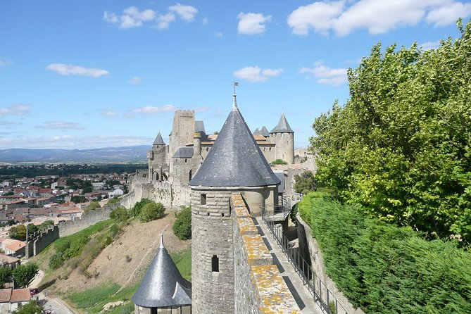 Day tour to the Cité de Carcassonne and wine tour. Shared tour from Toulouse.