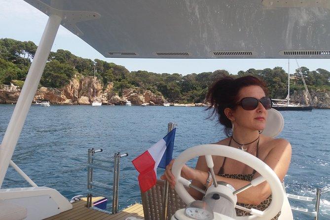 Private sea excursion in a solar catamaran in Antibes Juan les Pins