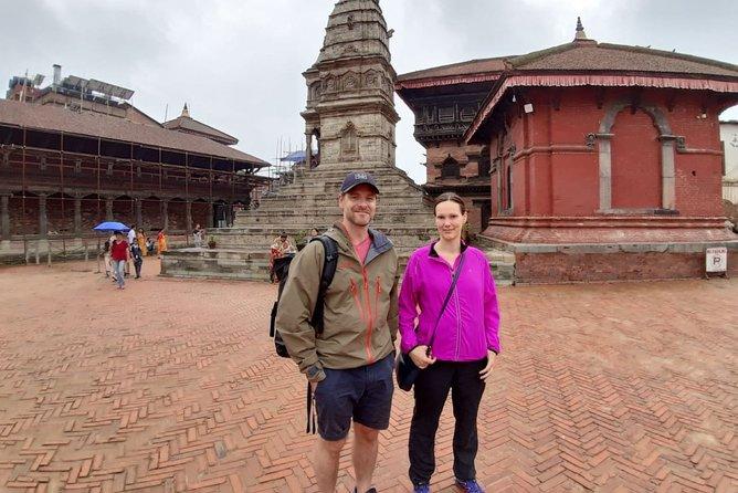 Half-Day Private Tour around Bhaktapur and Syambhunath Stupa