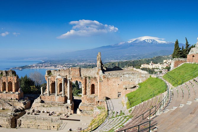 Etna and Taormina Tour - Pickup Time 08:30 from your Hotel