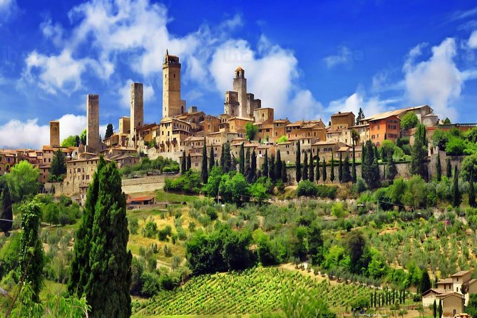 Livorno ShoreExcursion: Siena Monteriggioni San Gimignano with Lunch & WineTasting
