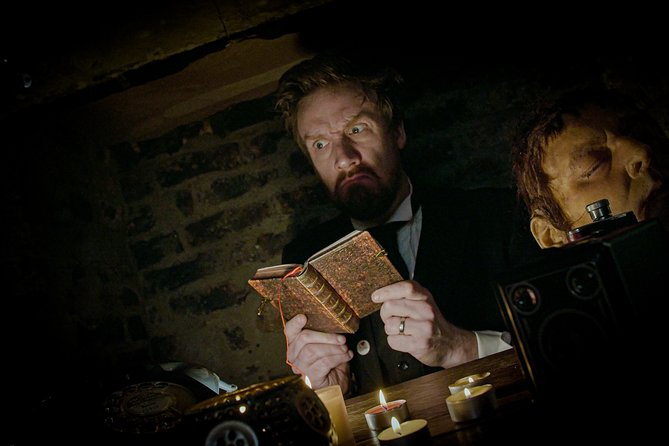 Researching ghostly tales