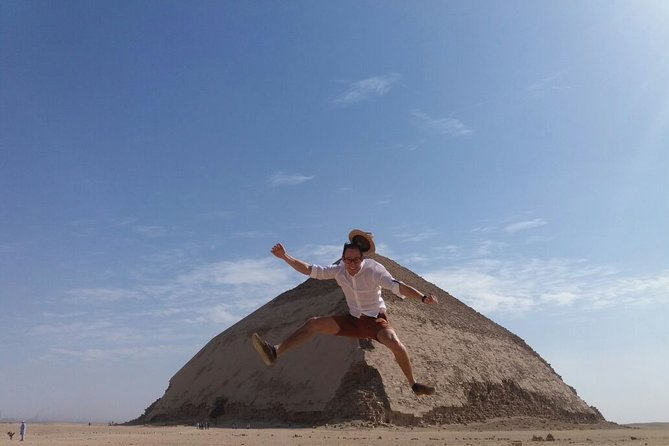 Full Day Tour to Giza Pyramid, Sakkara, Memphis city, and Dahshur Pyramids