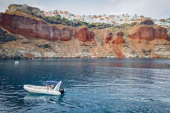 Santorini boat Tours