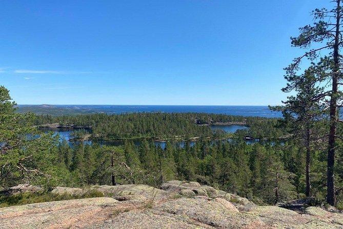 Hike in the world's highest coastline