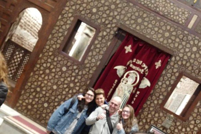 Tour to Jewish,Coptic and Islamic Cairo + Khan el Khalili Bazaar