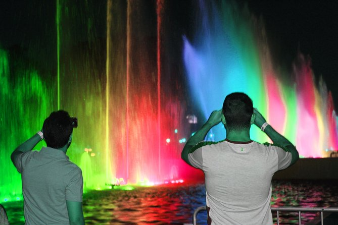 Beautiful Fountains Park & Bohemian Barranco - Night Tour