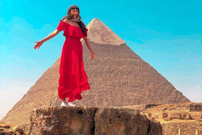 Day Trip To Giza Pyramids, Citadel, Old Cairo & Bazaar