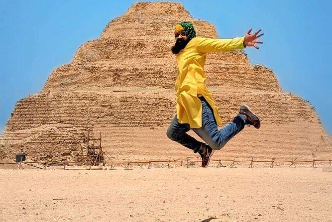 Day Tour to Pyramids, Sakkara & Dahshur in Egypt
