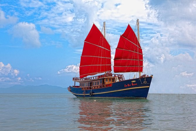 Red Baron Chinese Sailboat Tour from Koh Samui