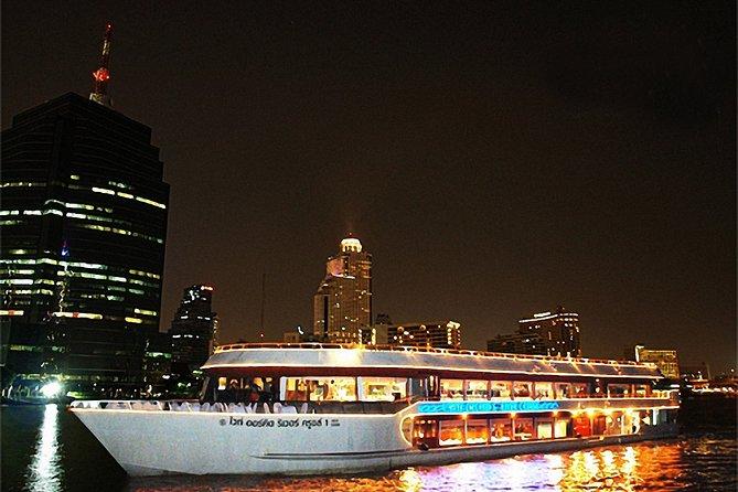 Bangkok Chao Phraya White Orchid River Cruise(Optional Roundtrip Transfers)