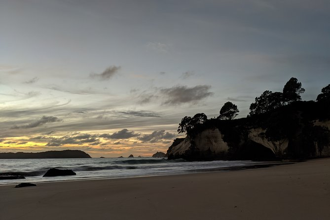Winter special! Sunrise at Cathedral cove